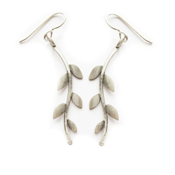 laurel vine earrings