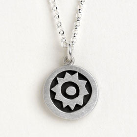 sun vignette necklace