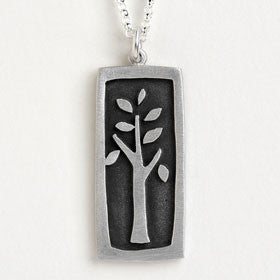tree of life vignette necklace
