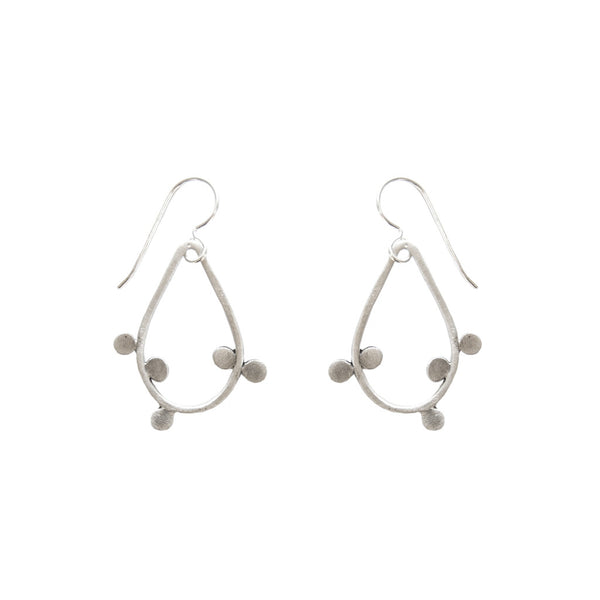 small bittersweet teardrop earrings