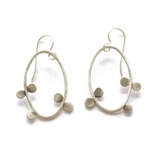 bittersweet oval earrings