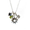 botanical buttercup combination necklace {starts at $48}