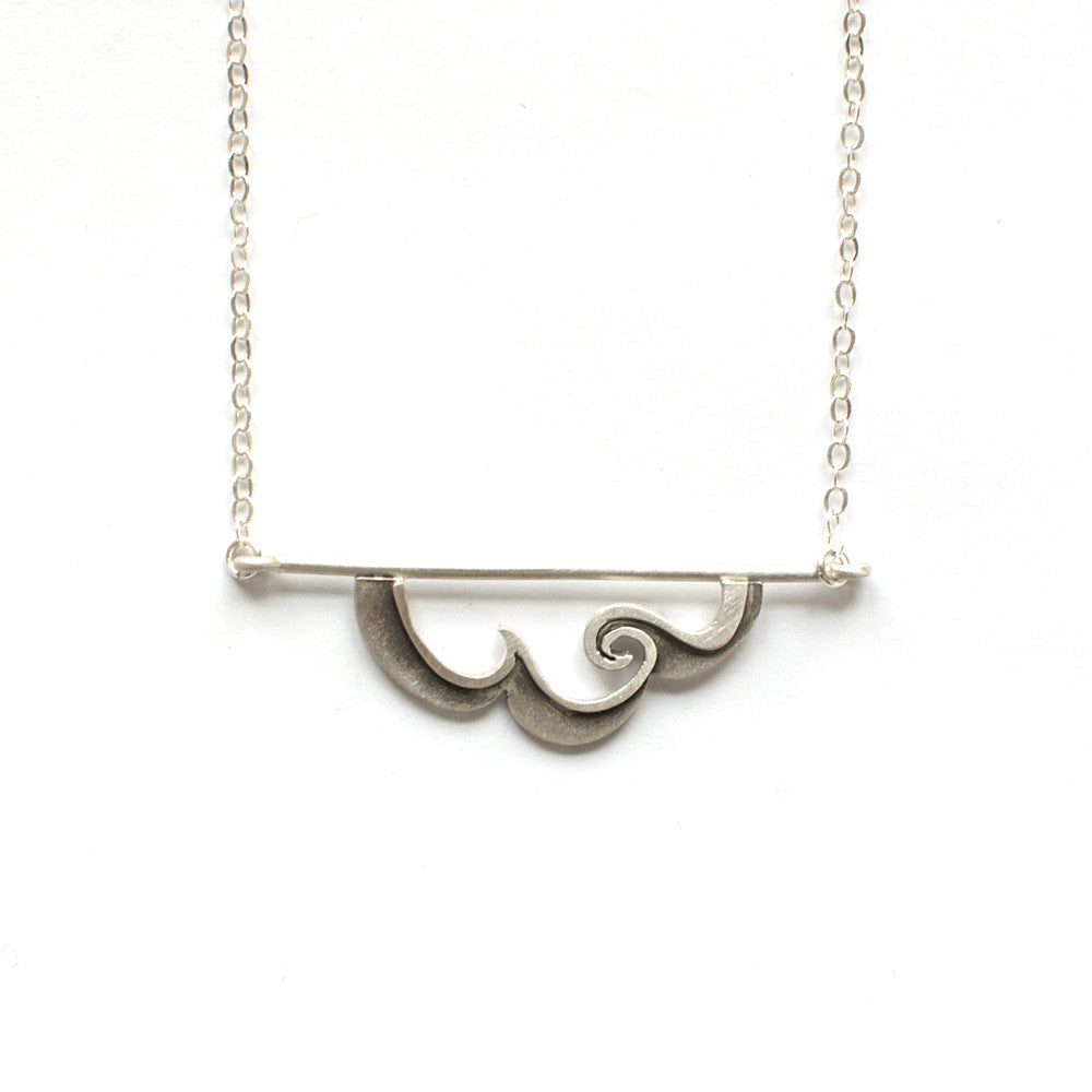 wave horizon necklace