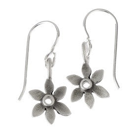 botanical forget-me-not earrings