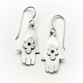 medium hamsa earrings