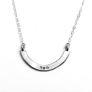 chesed judaic cup half full single necklace