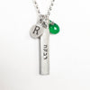 personalized hebrew bar combination necklace {starts at $104}
