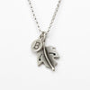 botanical maple leaf combination necklace {starts at $48}