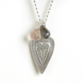 medium heart combination necklace {starts at $76}