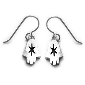hamsa naive earrings