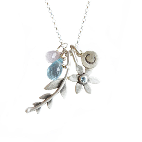 personalized botanical combination necklace {starts at $96}
