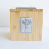 pomegranate tzedakah box - portion of proceeds goes to ACLU