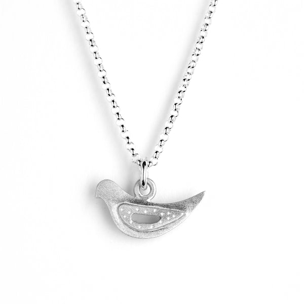 small dove necklace