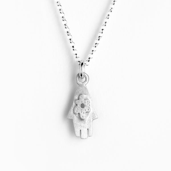small hamsa necklace
