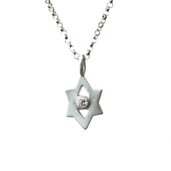 tiny Star of David amulet
