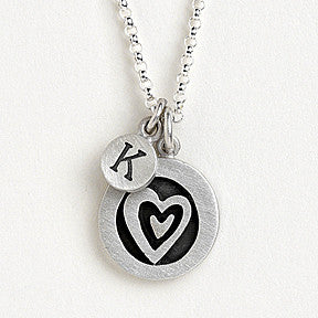 vignette heart combination necklace {starts at $56}