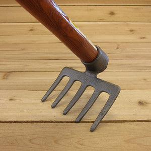 5-Tine Hand Eye Hoe by SHW - Working Angle