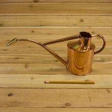 Copper Watering Can (1 quart) by Haws - Size