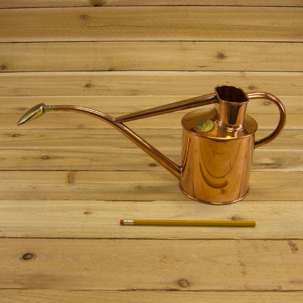 Copper watering can 1 quart by haws garden tool company - Haws copper watering can ...