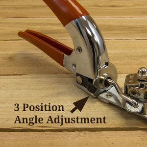 Grass Shears with 3 Angle Adjustment by Bahco - 3 Position
