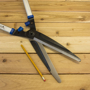 Professional Hedge Shears with Straight Blade by Vesco - Blade Size