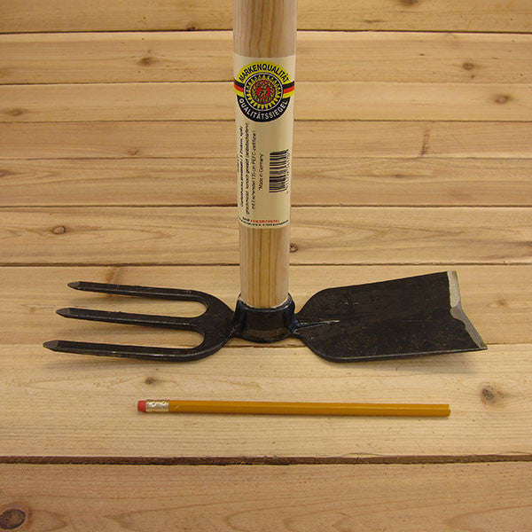 Long Fork and Mattock by SHW - Size Comparison