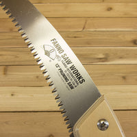 "Fanno 13"" Curved Blade Pruning Saw - Blade Detail 1"
