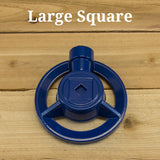 Small Stationary Sprinklers by Quality Valve & Sprinkler - Large Square Pattern