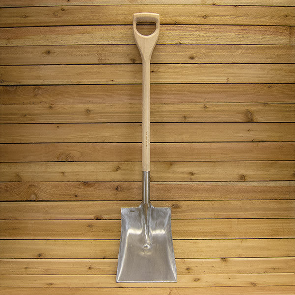 Square Point Shovel by Sneeboer - Full View