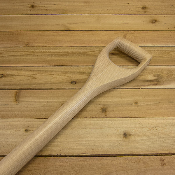 "Square Point Shovel by Sneeboer - Heirloom ""D"" Handle"
