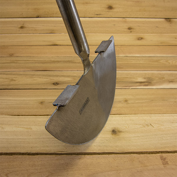 Stainless Steel Edging Knife by Sneeboer - Blade Steps