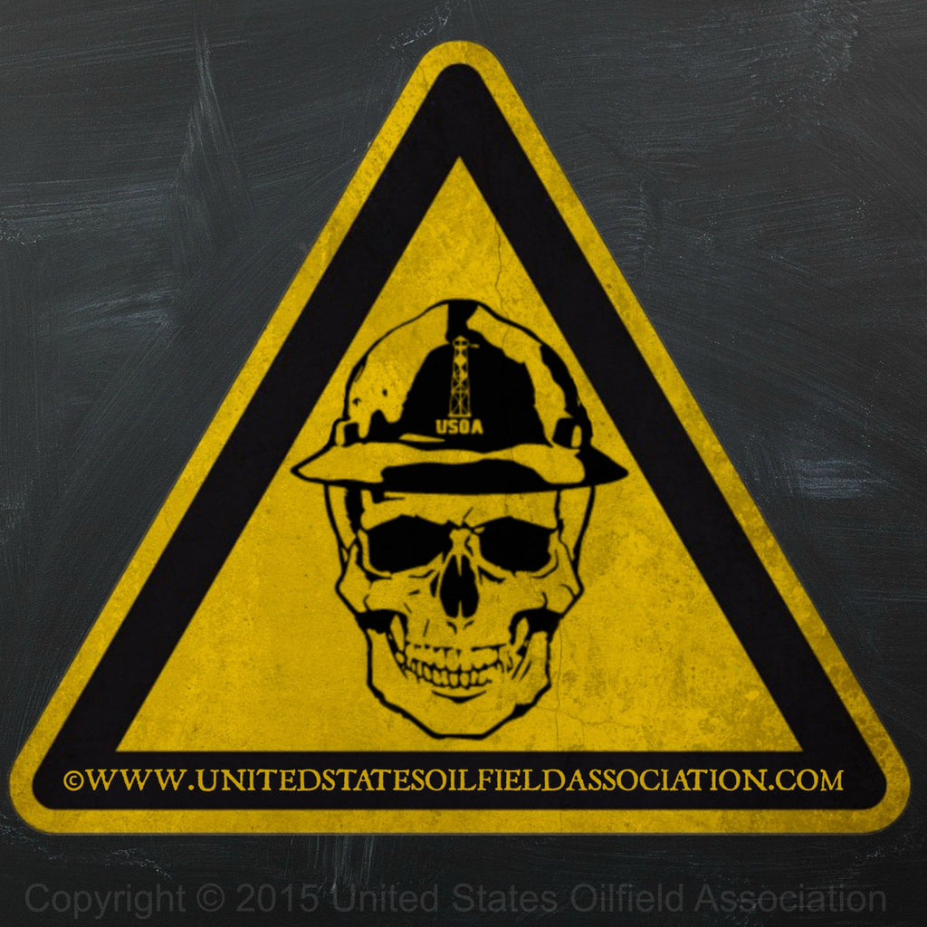 Decal - Ace Caution  Decal