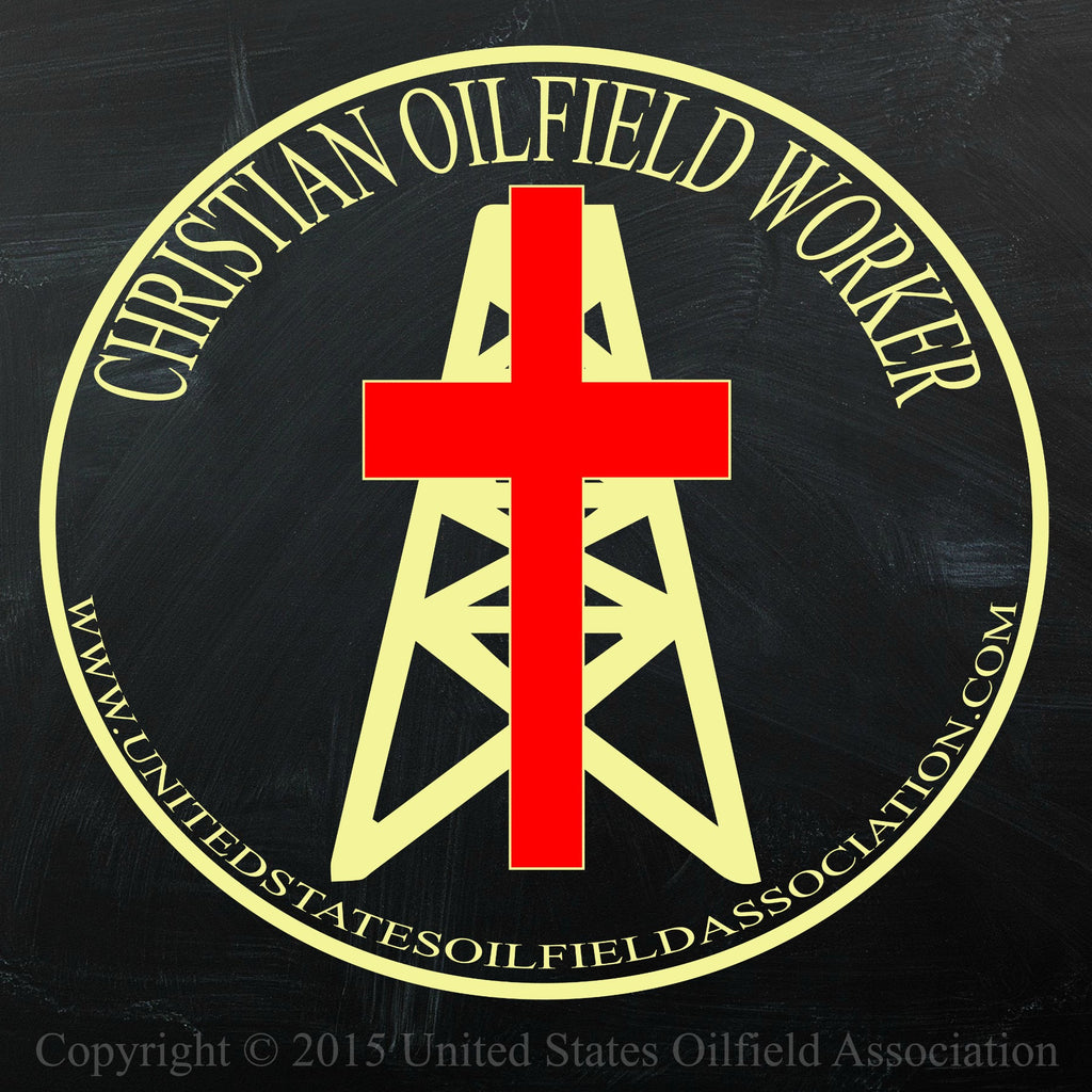 Decal - Christian Oilfield Worker Decal