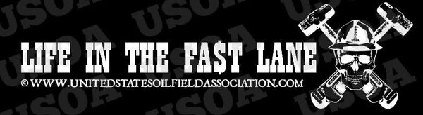 Decal - Life In The Fast Lane Decal/Bumper Sticker