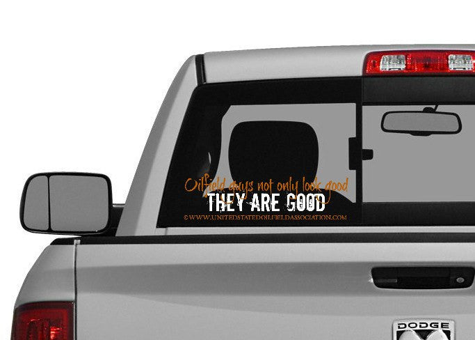 Decal - They Are Good Decal/Bumper Sticker