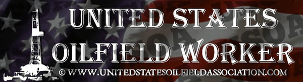 Decal - United States Oilfield Worker Bumper Sticker