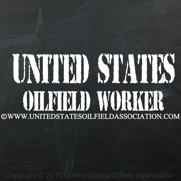 Decal - United States Oilfield Worker (Decal)