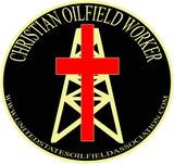 Hard Hat Decals - Christian Oilfield Worker Hard Hat Decal