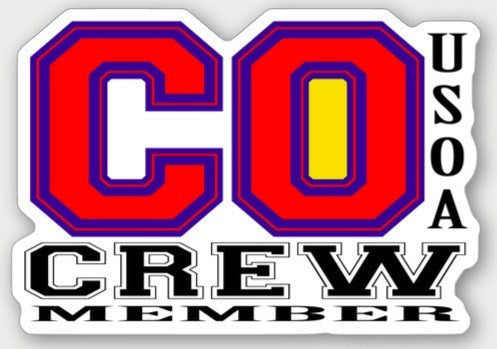 Hard Hat Decals - Colorado Crew Member Hard Hat Sticker