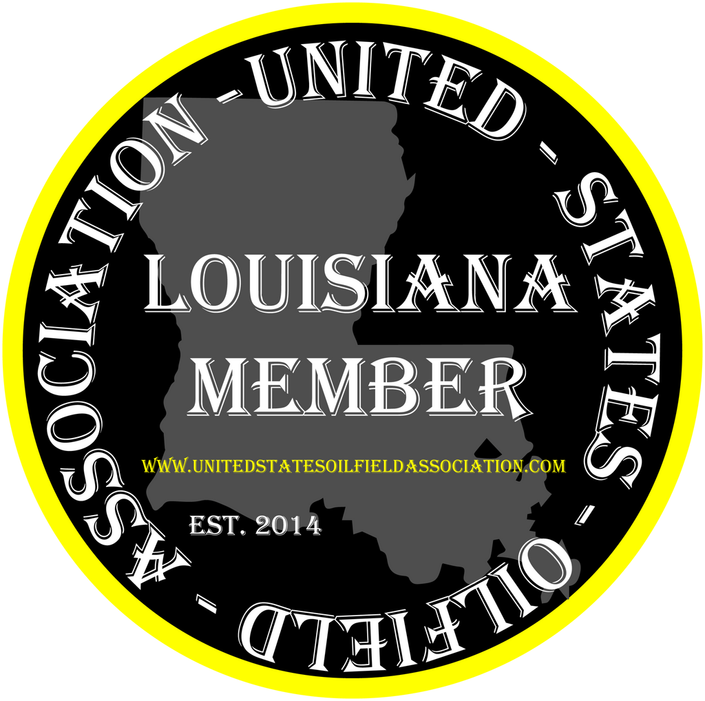 Hard Hat Decals - Louisiana Member Hard Hat Decal