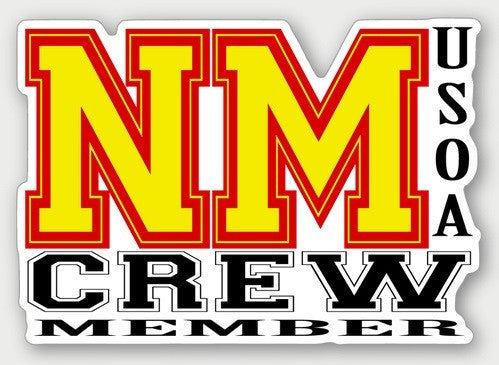 Hard Hat Decals - New Mexico Crew Member Hard Hat Sticker