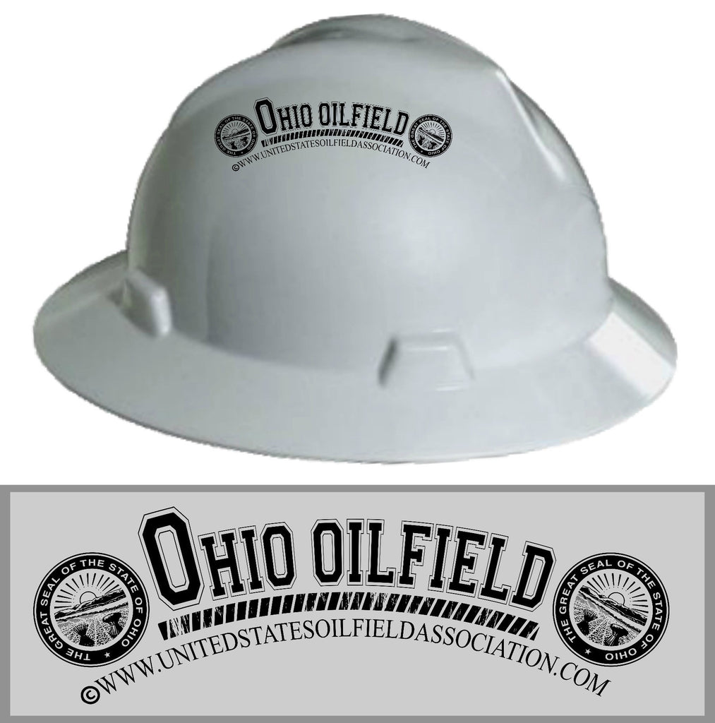 Hard Hat Decals - Ohio Oilfield Hard Hat Decal