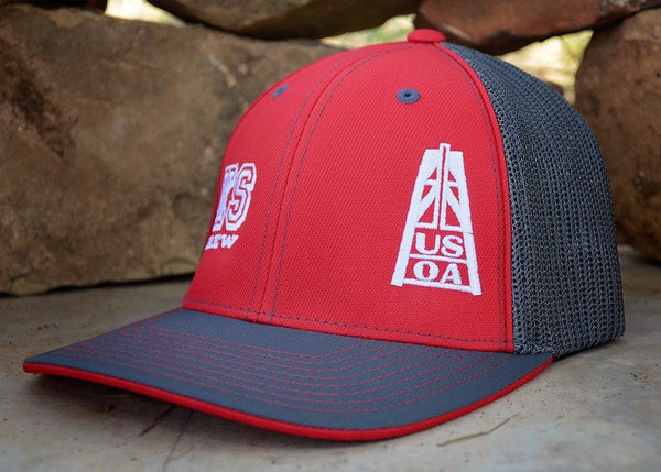 Hats - Kansas Crew Member Hat (Red)