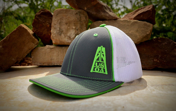 Hats - Lime Green USOA Hat