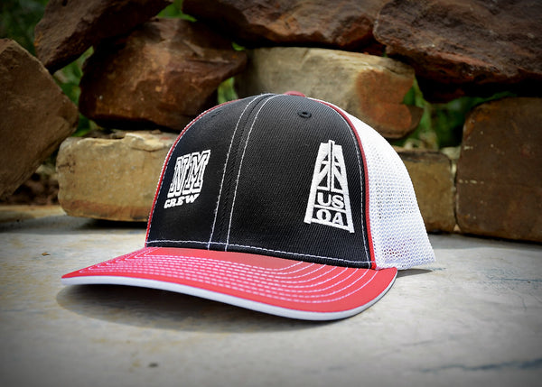 Hats - New Mexico Crew Member Hat (Black & Red)