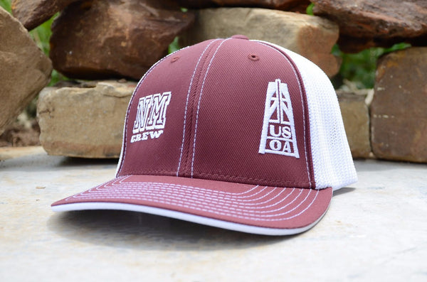 Hats - New Mexico Crew Member Hat (Maroon)