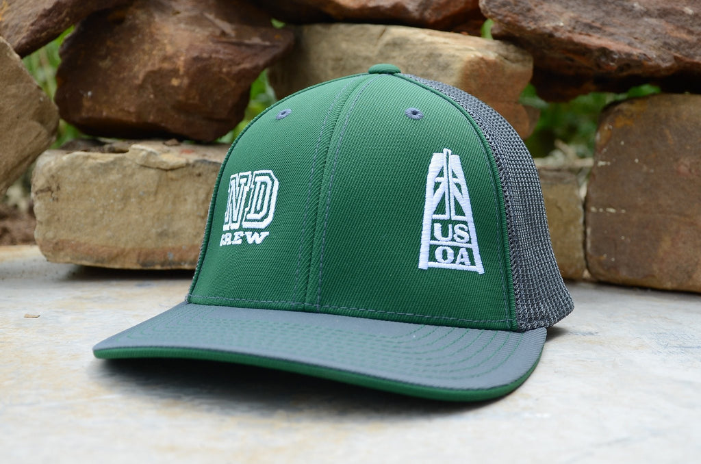 Hats - North Dakota Crew Member Hat (Green)
