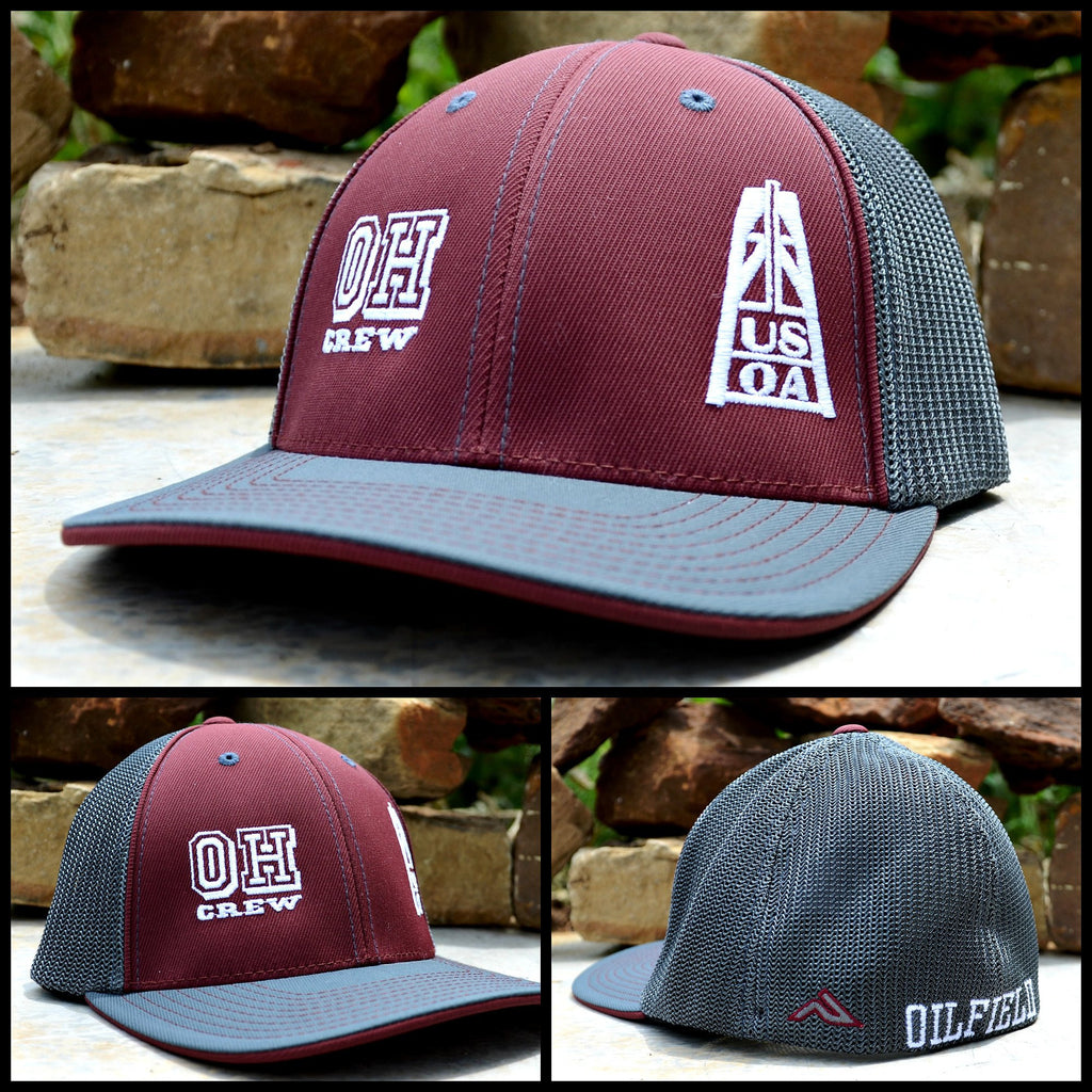 Hats - Ohio Crew Member Hat (Maroon)
