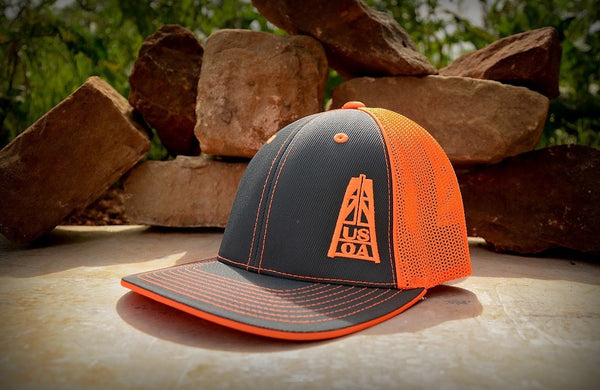 Hats - Orange USOA Hat