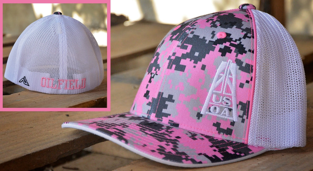 Hats - Pink Digital-Camo USOA Hat